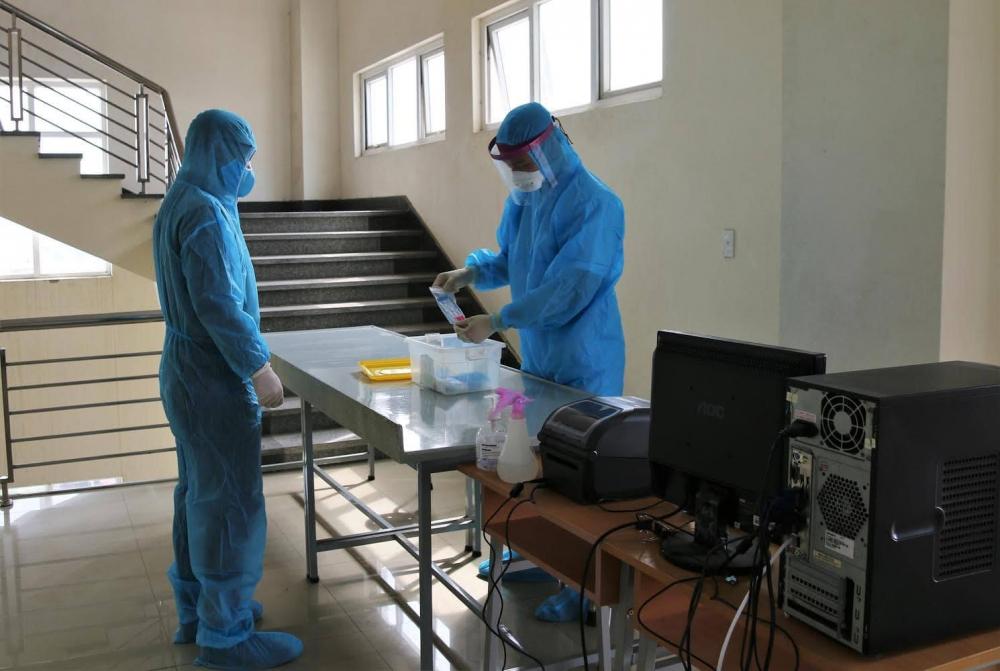 Bệnh viện dã chiến ở Hải Dương tăng 4 lần công suất xét nghiệm