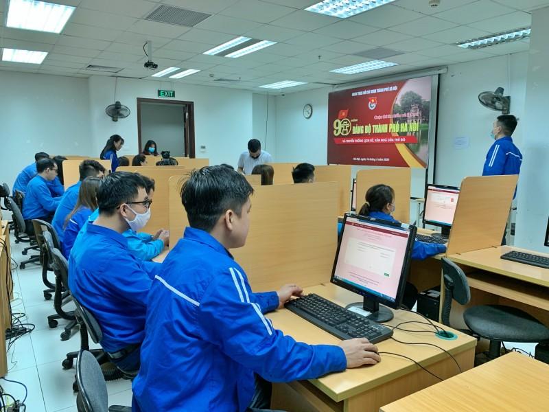 Khởi động thi trực tuyến tìm hiểu 90 năm lịch sử Đảng bộ Hà Nội