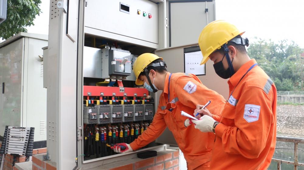 EVN Hà Nội: Đảm bảo cung ứng điện an toàn, liên tục và ổn định trong mùa khô