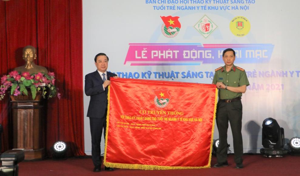 Khai mạc Hội thao kỹ thuật sáng tạo trẻ ngành Y Hà Nội