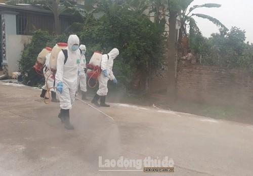 Hà Nội triển khai quyết liệt công tác phòng, chống dịch bệnh