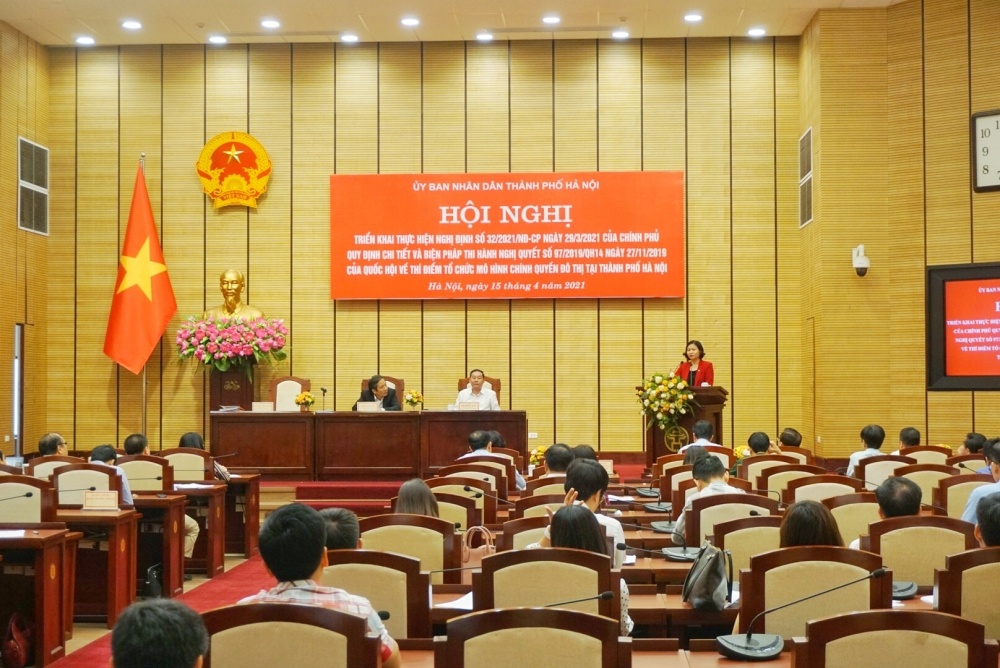 Hà Nội triển khai thực hiện thí điểm tổ chức mô hình chính quyền đô thị