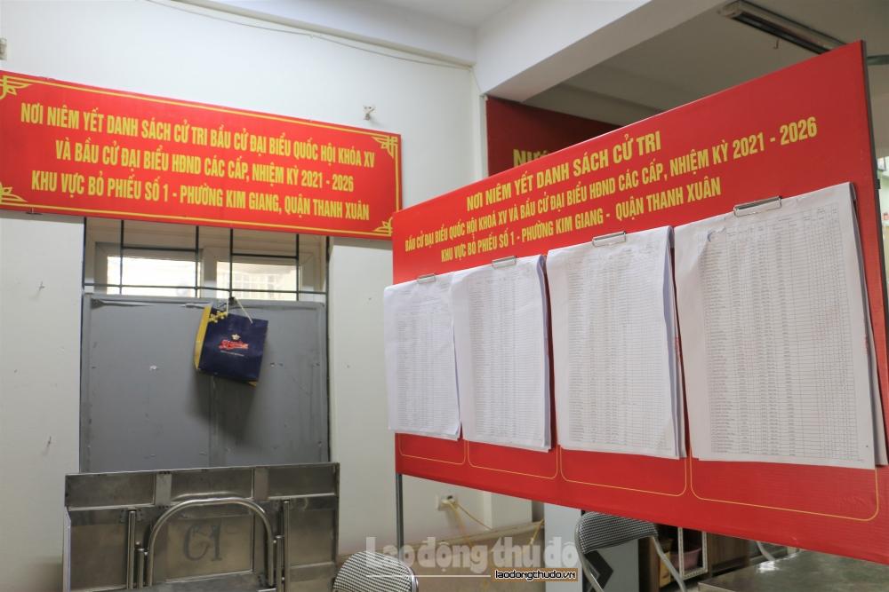 Hà Nội: Chặt chẽ, đầy đủ và chính xác trong niêm yết danh sách cử tri