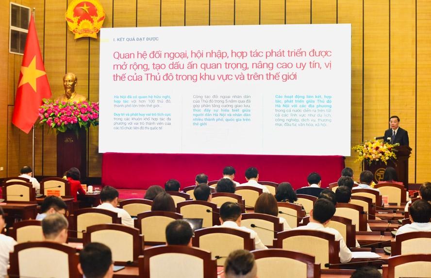 Tái cơ cấu, đẩy mạnh phát triển nền kinh tế Thủ đô nhanh, bền vững