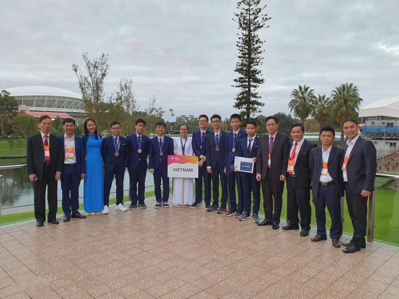 olympic vat ly chau a 2019 viet nam tiep tuc chinh phuc nhung tam huy chuong danh gia