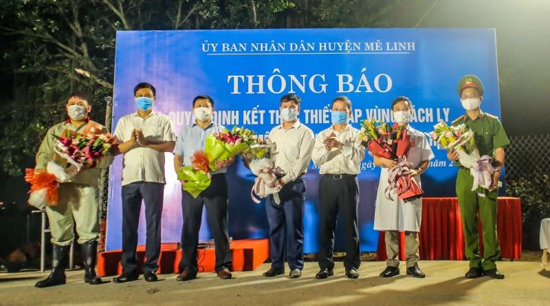 chinh thuc go phong to a thon ha loi sau 28 nga y ca ch ly