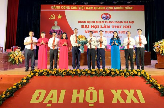 Đại hội Đảng bộ cơ quan Thành đoàn Hà Nội nhiệm kỳ 2020 - 2025 thành công tốt đẹp