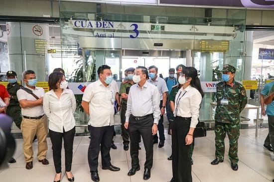 Bí thư Thành ủy Hà Nội Đinh Tiến Dũng: Xử lý nghiêm những người cố tình vi phạm công tác phòng, chống dịch Covid-19