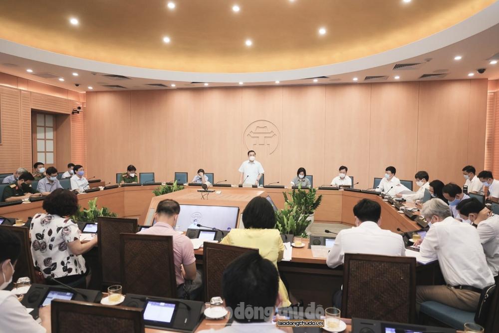 Hà Nội: Cần rà soát và tăng cường hơn nữa trách nhiệm quản lý tại Khu công nghiệp trong phòng, chống dịch