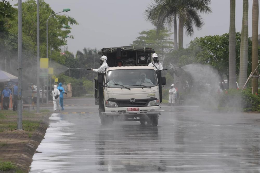 Triển khai các biện pháp kiểm soát ổ dịch Bệnh viện Bệnh Nhiệt đới Trung ương cơ sở 2