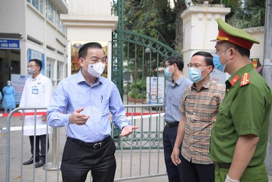 Chủ tịch UBND Thành phố Chu Ngọc Anh làm Trưởng ban Chỉ đạo phòng, chống dịch bệnh Co  vid-19 Thành phố