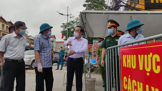 Khẩn trương truy vết, không để mất dấu F1 tại huyện Thường Tín