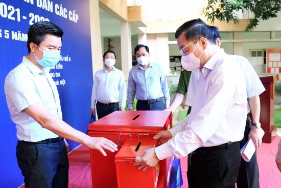 Hà Nội: Thực hiện 6 nhiệm vụ trọng tâm để đảm bảo an ninh, an toàn cho ngày bầu cử