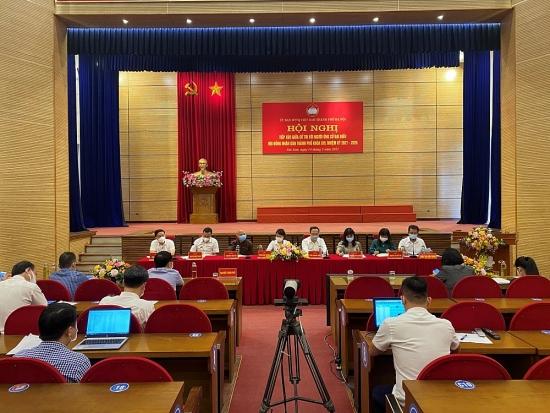 Người ứng cử đại biểu Hội đồng nhân dân thành phố Hà Nội tiếp xúc cử tri huyện Sóc Sơn