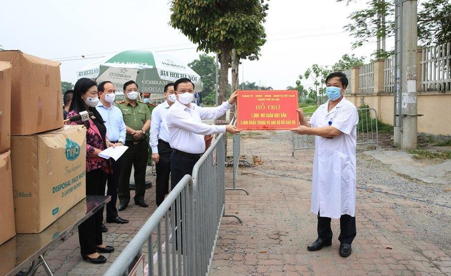 Hà Nội kiến nghị Thủ tướng cho phép tăng thêm 70% mức bồi dưỡng lực lượng phòng, chống dịch Covid-19
