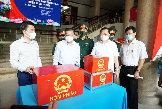 Hà Nội: Toàn bộ hệ thống chính quyền ứng trực 24/24 để đảm bảo an toàn tuyệt đối ngày bầu cử