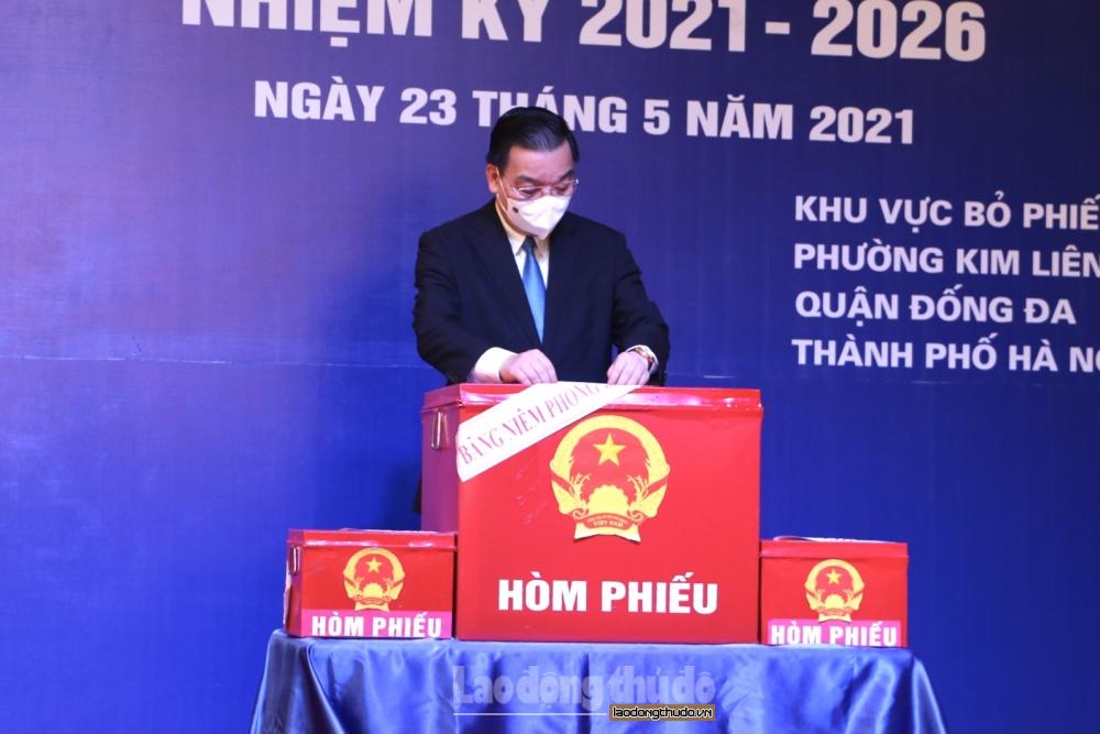 Chủ tịch Ủy ban nhân dân Thành phố Chu Ngọc Anh: Cuộc bầu cử lần này diễn ra với ý nghĩa đặc biệt quan trọng