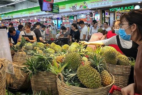 Sầu riêng hạ giá chưa từng thấy, người dân chen chân đợi hàng tiếng đồng hồ để mua