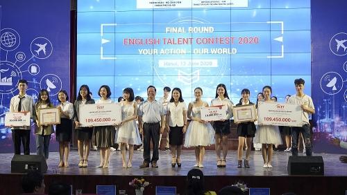Học sinh, sinh viên Thủ đô thi tài năng tiếng Anh