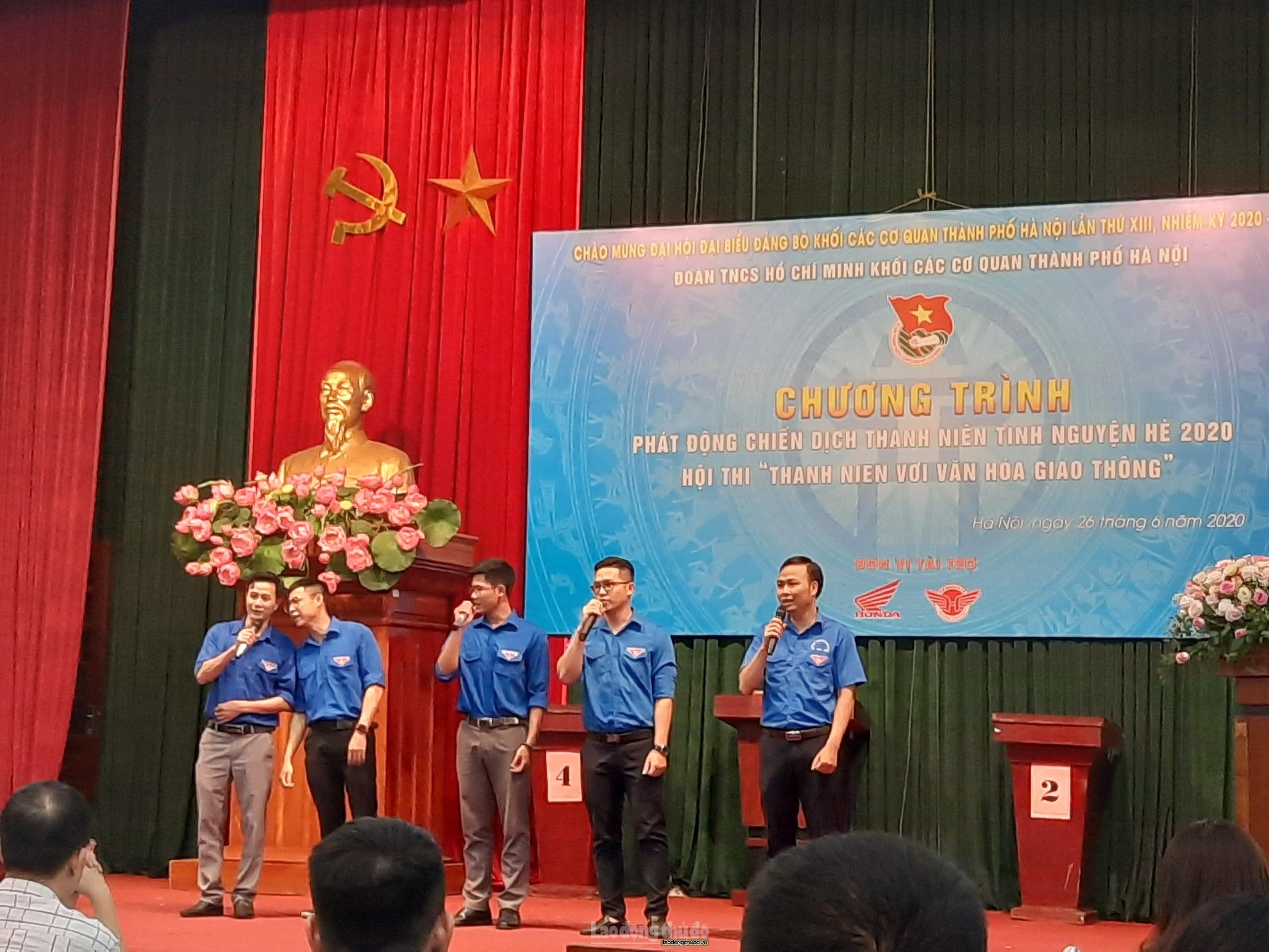 Đoàn Khối các cơ quan thành phố Hà Nội khởi động chiến dịch tình nguyện hè 2020
