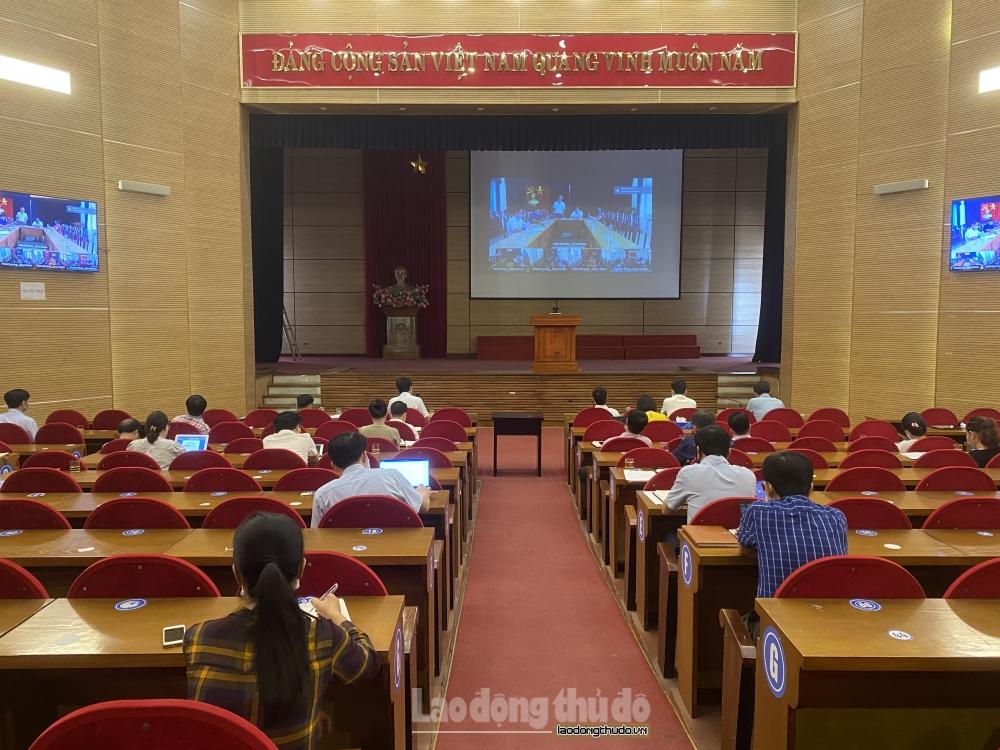 Công bố kết quả bầu cử đại biểu Hội đồng nhân dân huyện Sóc Sơn nhiệm kỳ 2021-2026