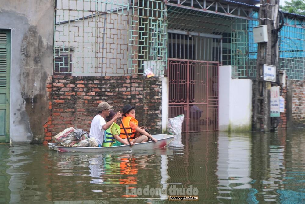Hà Nội cụ thể hóa phương án cứu trợ và đảm bảo đời sống nhân dân khi có sự cố, thiên tai