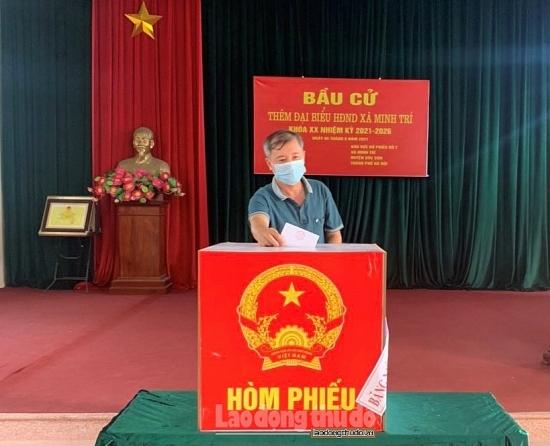 Huyện Sóc Sơn: Bầu bổ sung đại biểu Hội đồng nhân dân tại 4 xã