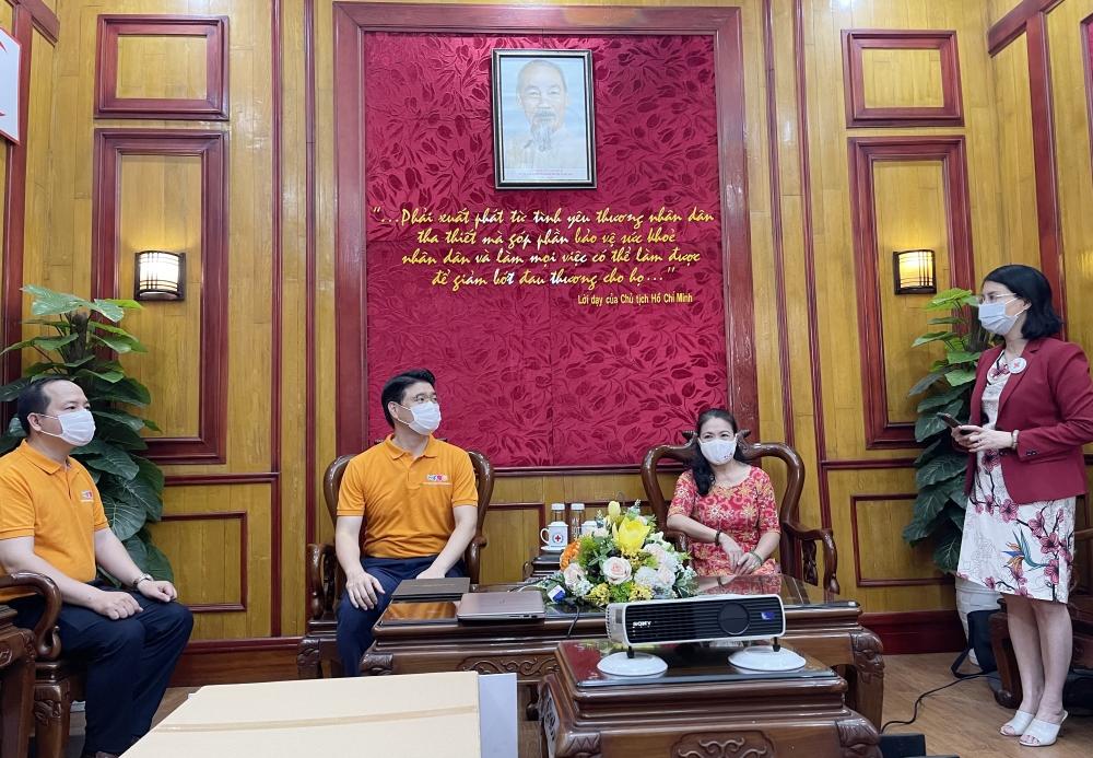 Trung ương Hội Chữ thập đỏ Việt Nam: Tiếp nhận ủng hộ 35.000 chiếc khẩu trang phòng, chống dịch Covid-19