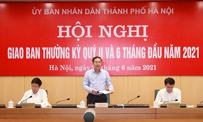 Dù tác động bởi đại dịch Covid-19 nhưng kinh tế Hà Nội vẫn duy trì tăng trưởng