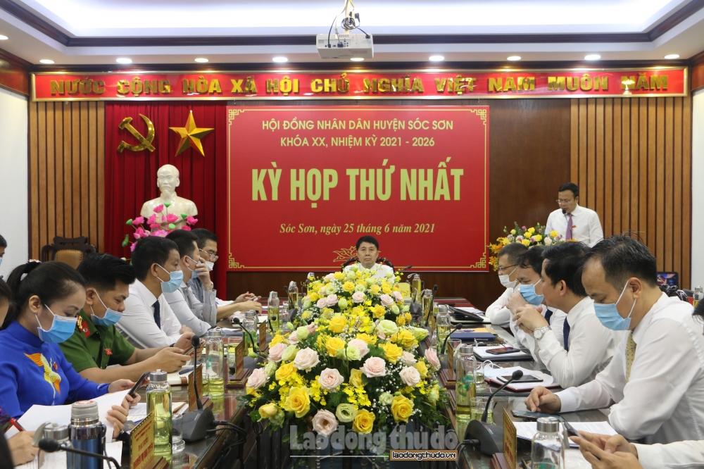 Kỳ họp thứ Nhất Hội đồng nhân dân huyện Sóc Sơn