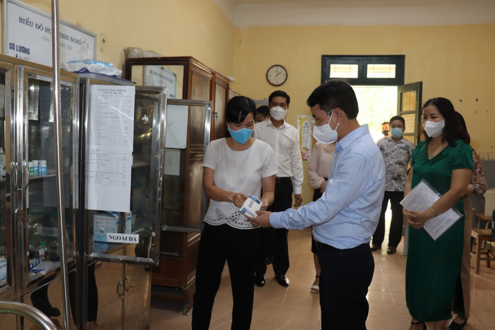 Huyện Sóc Sơn: Bảo đảm cho kỳ thi tốt nghiệp Trung học phổ thông diễn ra an toàn, đúng quy chế