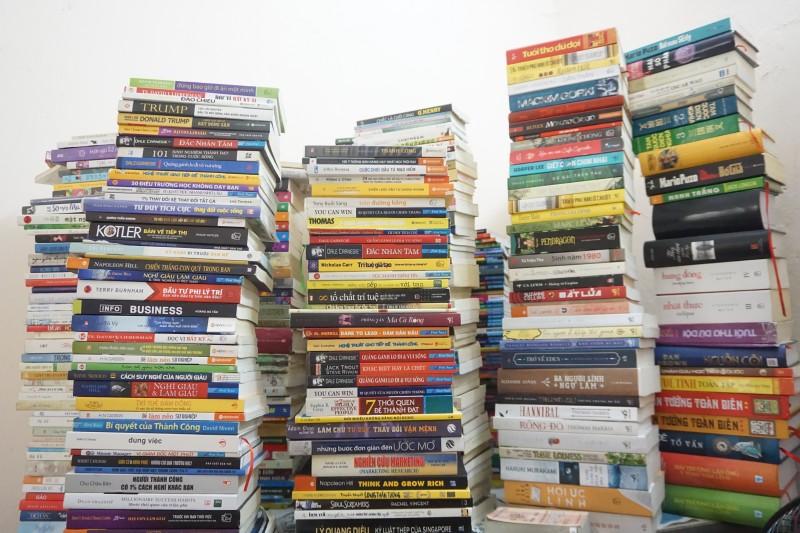 """Thư viện """"mượn sách, đặt cọc niềm tin"""" đặc biệt tại Hà Nội"""