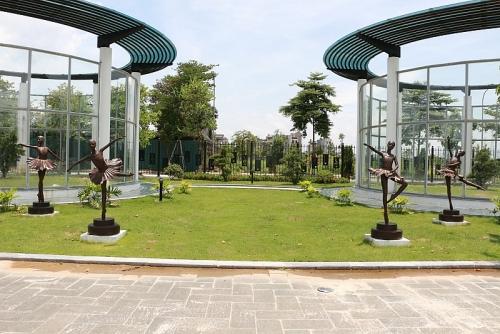 Cận cảnh công viên âm nhạc độc đáo ở Hà Nội