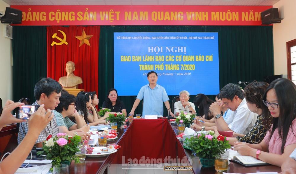 Báo chí Hà Nội tiếp tục tuyên truyền sâu đậm Đại hội Đảng các cấp