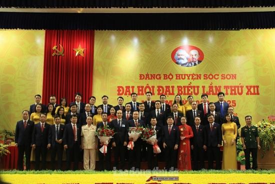 Đồng chí Phạm Quang Thanh được bầu làm Bí thư Huyện ủy Sóc Sơn