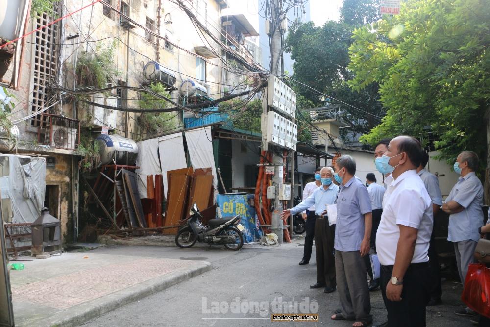 Kiến nghị đảm bảo việc tái định cư cho người dân ở chung cư cũ