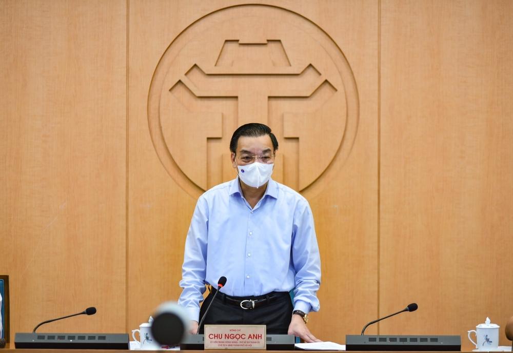 Chủ tịch Uỷ ban nhân Thành phố Chu Ngọc Anh: Chủ động, sáng tạo, quyết tâm đẩy lùi dịch bệnh