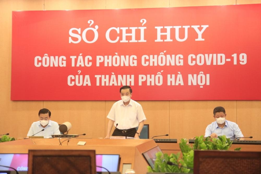Chủ tịch thành phố Hà Nội: Xử phạt nghiêm người ra đường không vì mục đích thiết yếu