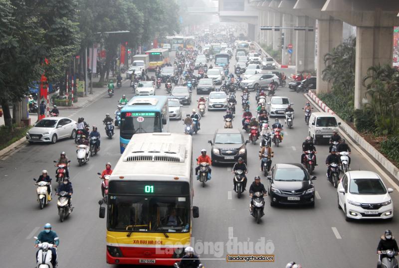 Hà Nội: Thực hiện đo kiểm khí thải xe máy cũ nhằm cải thiện chất lượng không khí