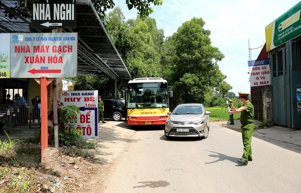 Phát huy hiệu quả các chốt kiểm soát dịch Covid-19 trên địa bàn huyện Sóc Sơn
