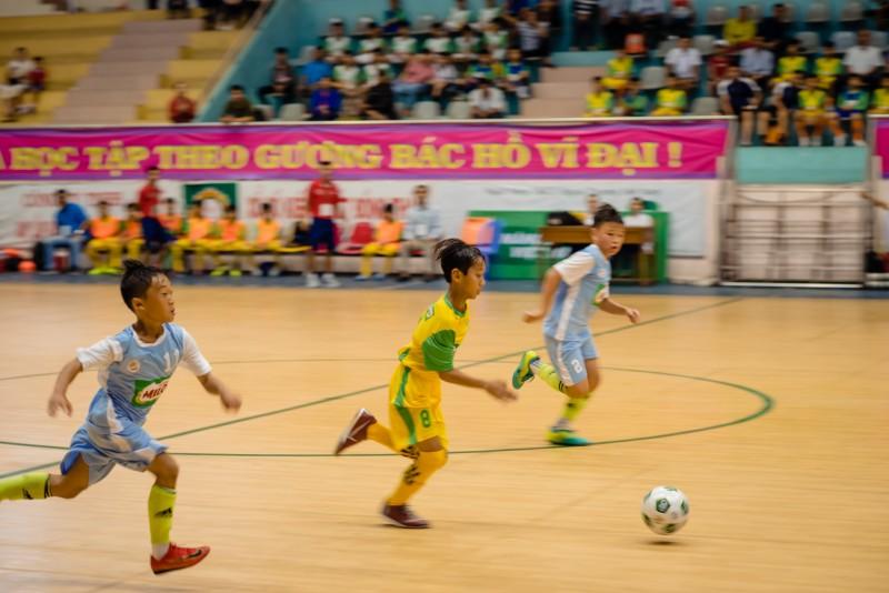 Khởi tranh vòng chung kết Giải bóng đá Hội khỏe Phù Đổng học sinh Tiểu học và THCS toàn quốc Cúp MILO năm 2019