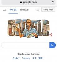 Họa sĩ Bùi Xuân Phái được tôn vinh trên trang chủ Google tìm kiếm