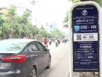 Hà Nội tiếp tục thí điểm dịch vụ iParking trong hoạt động trông giữ phương tiện