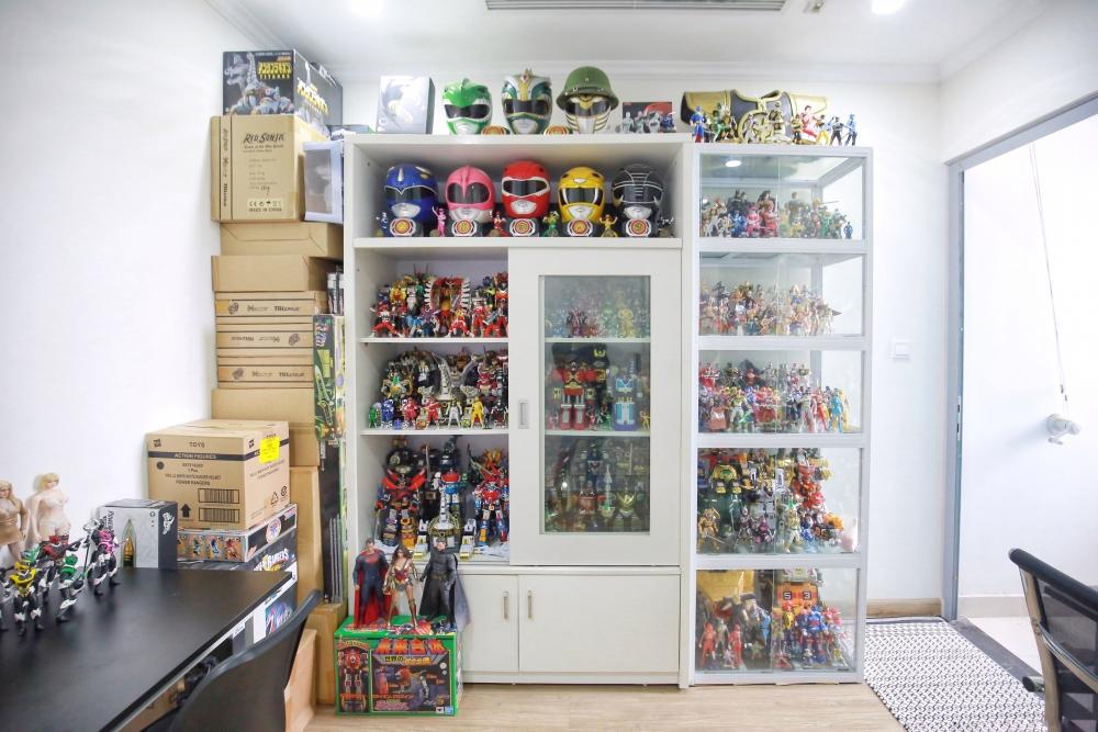 Bộ sưu tập mô hình siêu nhân hơn nửa tỷ của chàng trai 9x Hà Nội