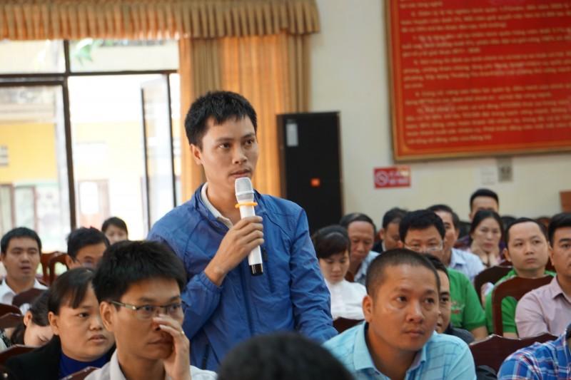 Huyện Thường Tín tổ chức hội nghị đối thoại với các doanh nghiệp và người lao động