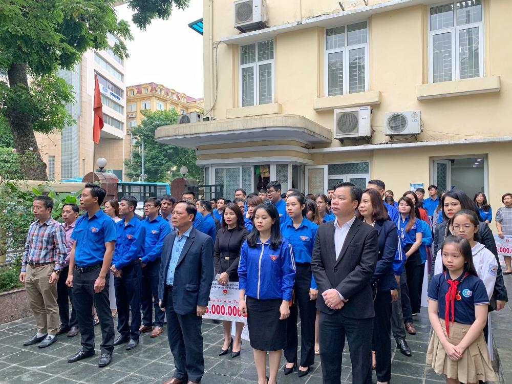 Tuổi trẻ Thủ đô quyên góp hơn 3 tỷ đồng ủng hộ đồng bào miền Trung bị mưa lũ