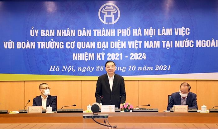 Hà Nội mong muốn cơ quan đại diện Việt Nam tại nước ngoài chung tay phát triển Thủ đô