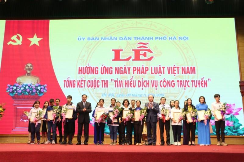 Hà Nội tiếp tục nângcao tinh thần thượng tôn pháp luật
