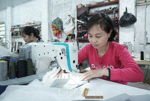 Lao động nông thôn có việc làm ổn định sau khi đào tạo nghề