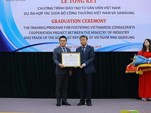 Hơn 200 chuyên gia Việt Nam được đào tạo, tư vấn cải tiến sản xuất